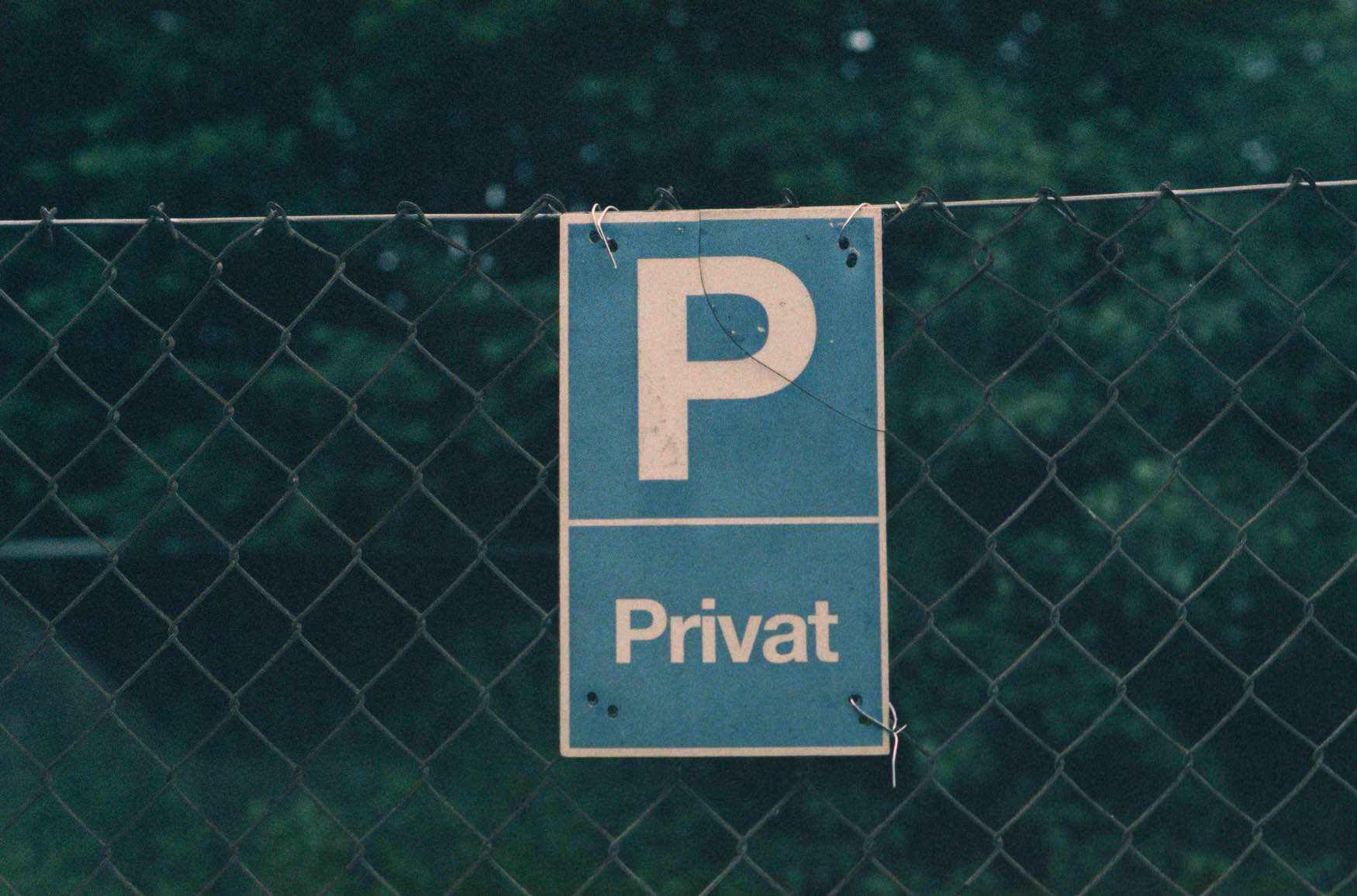 Unfallflucht auf einem Privatgrundstück